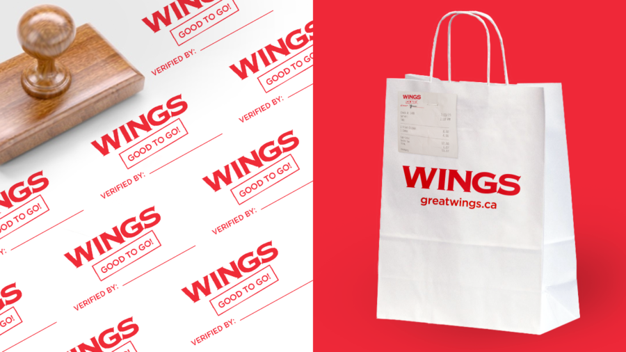 WINGS - Stamp Design
