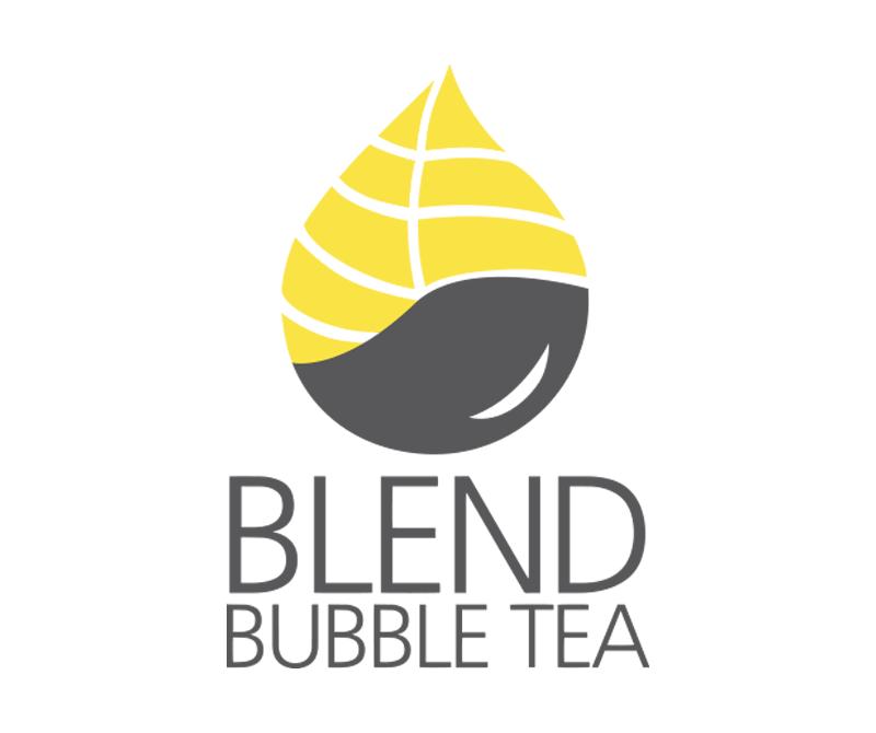 Blend Bubble Tea - Logo Design