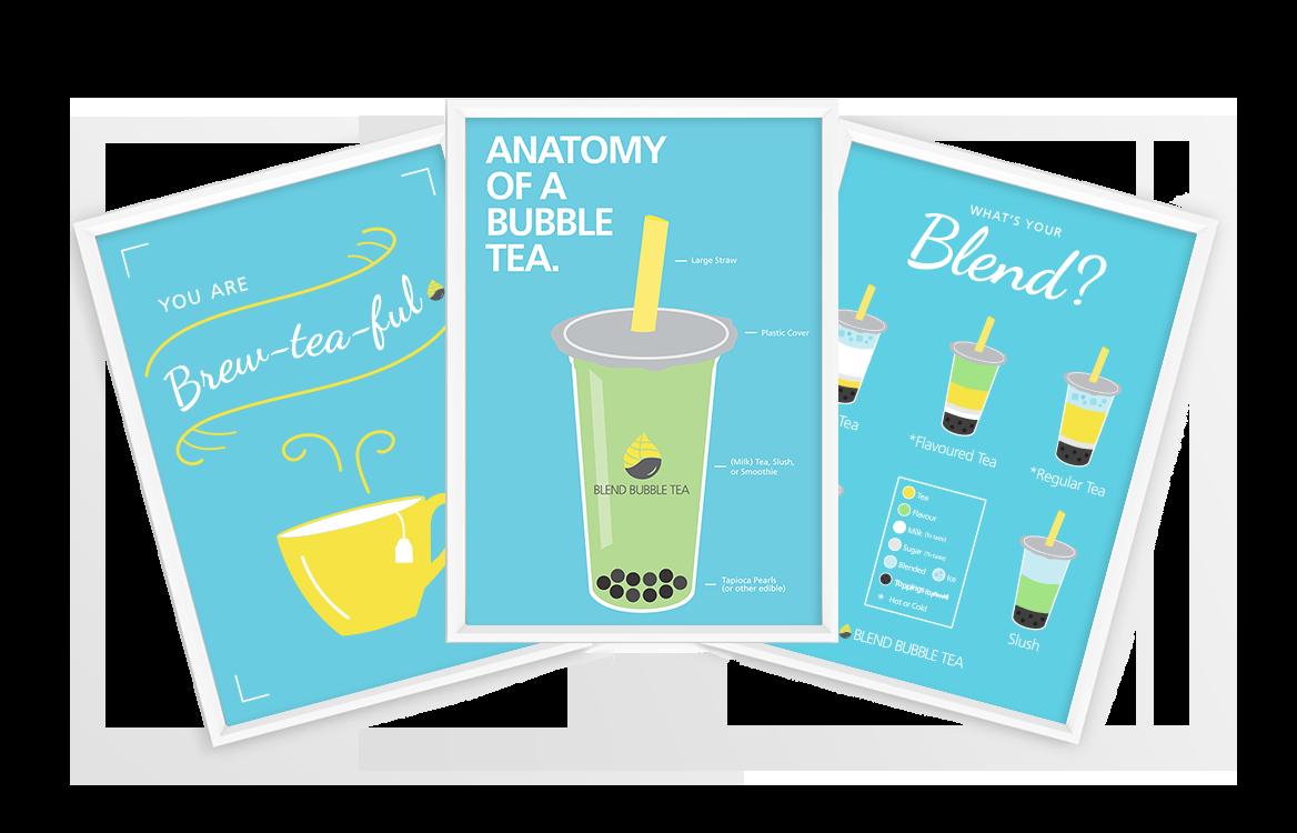 Poster Design – Blend Bubble Tea
