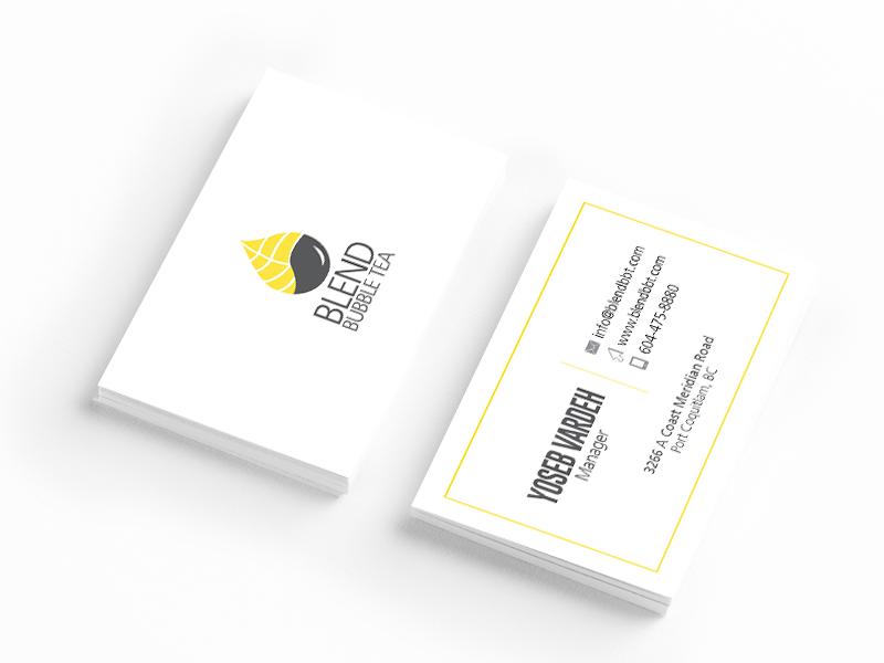 Business Card –Blend Bubble Tea