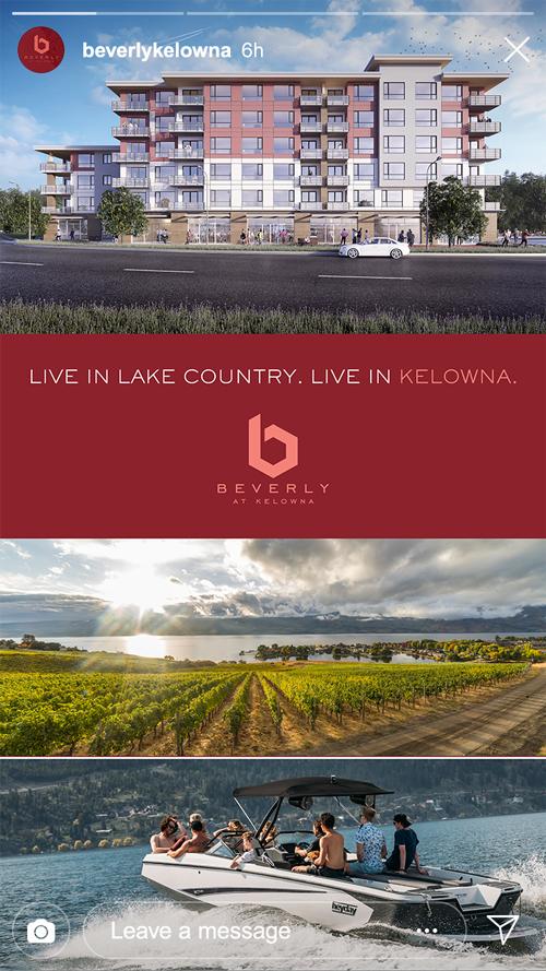 Beverly Kelowna Instagram Story | Live in Lake Country
