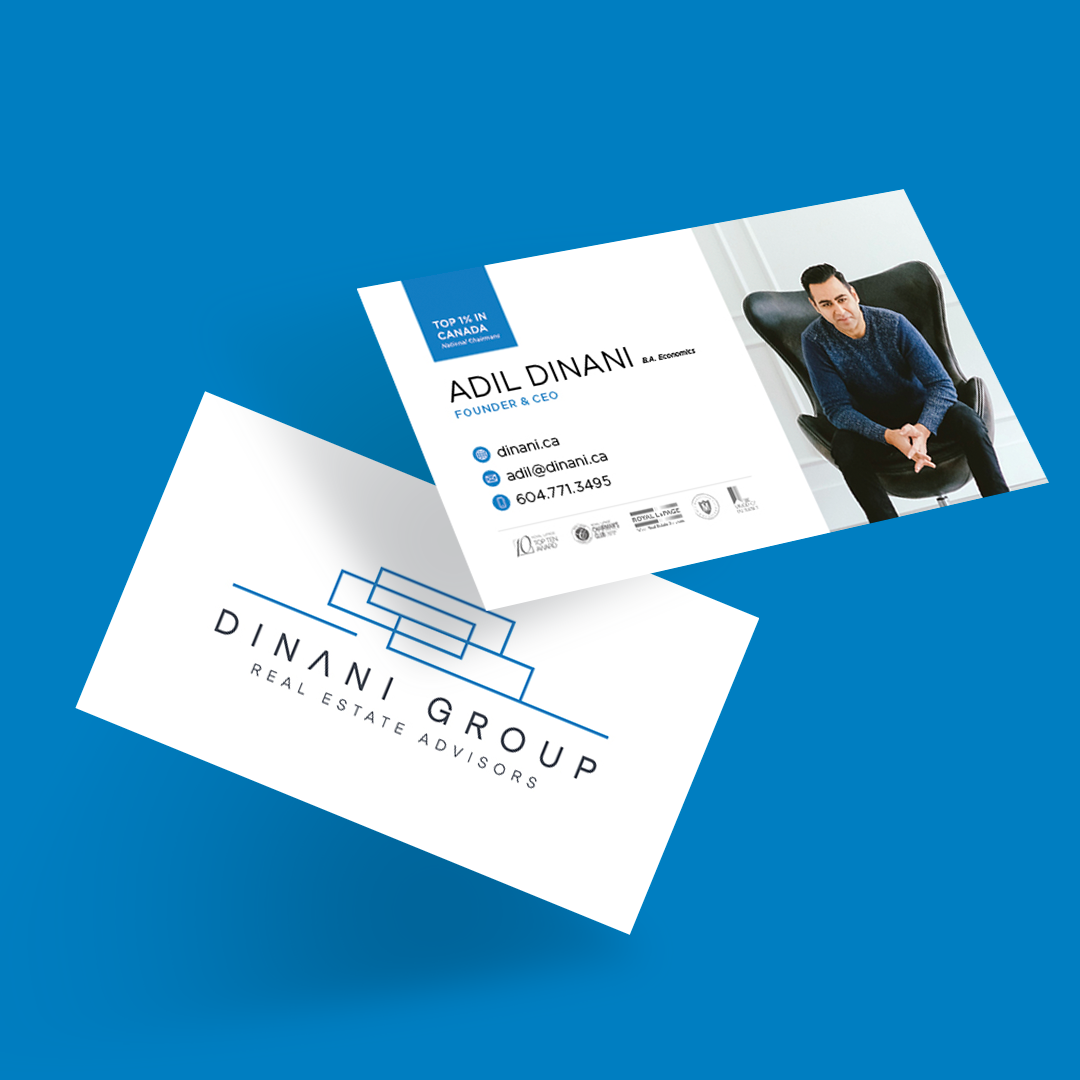 Dinani Group –Adil Dinani – Business Card