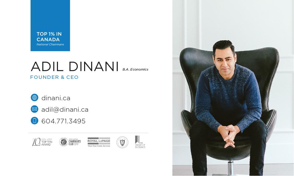 Adil Dinani –Business Card Design –Dinani Group
