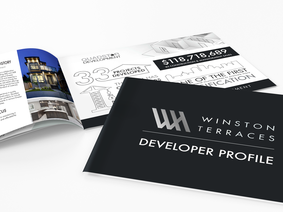 Developer Profile – Landscape Brochure – Winston Terraces