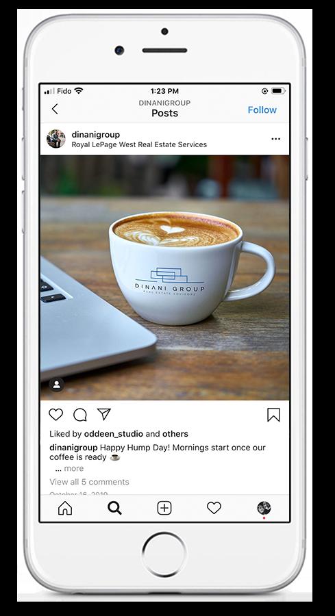 Dinani Group – Coffee Cup Mockup