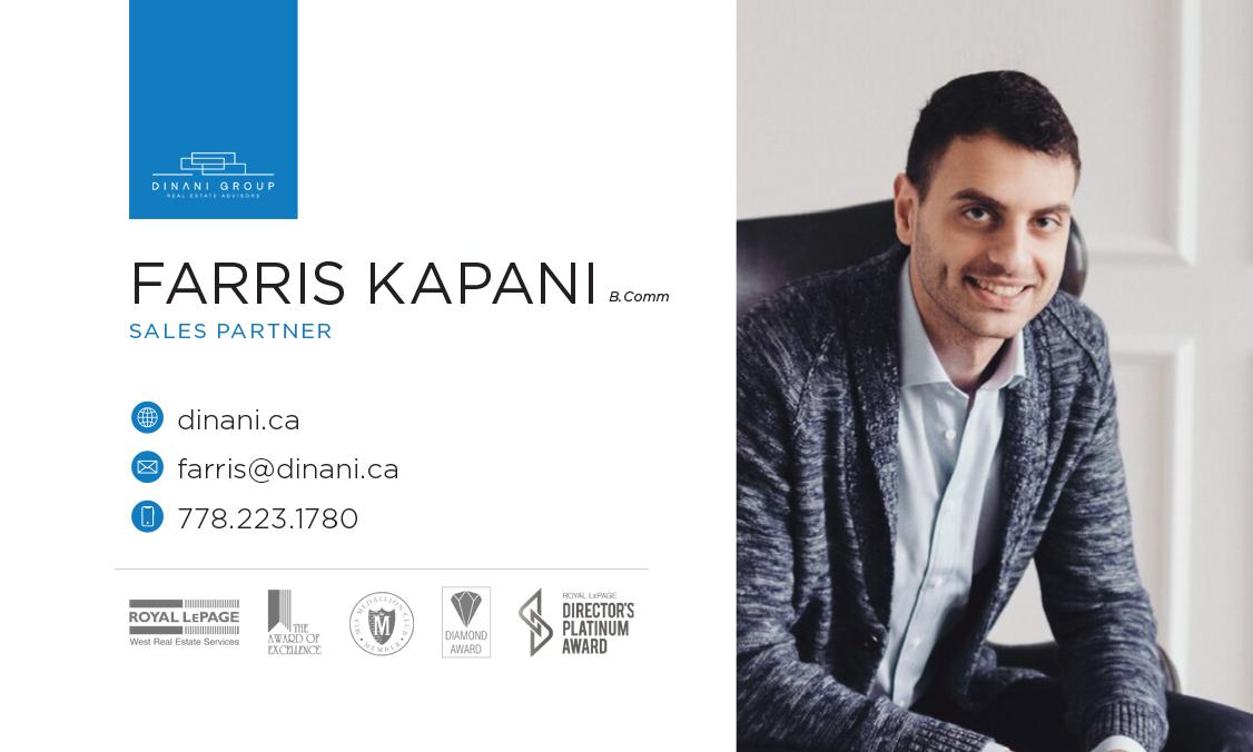 Farris Kapani –Business Card Design –Dinani Group