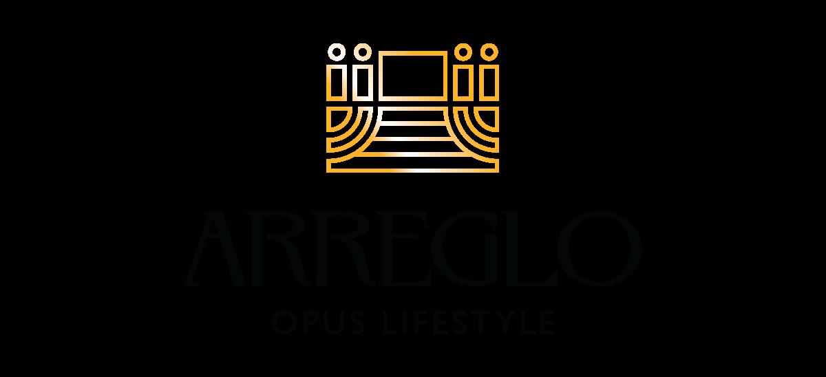 Arreglo Opus Lifestyle Logo Design