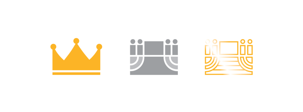 Arreglo Logo Inspiration (Crown and stage)