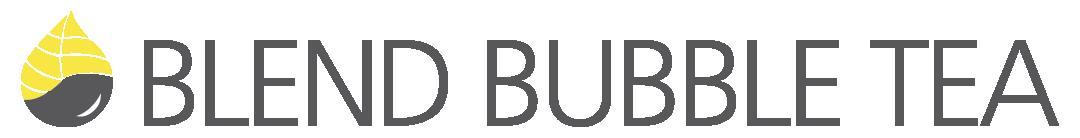 Blend Bubble Tea Logo Horizontal